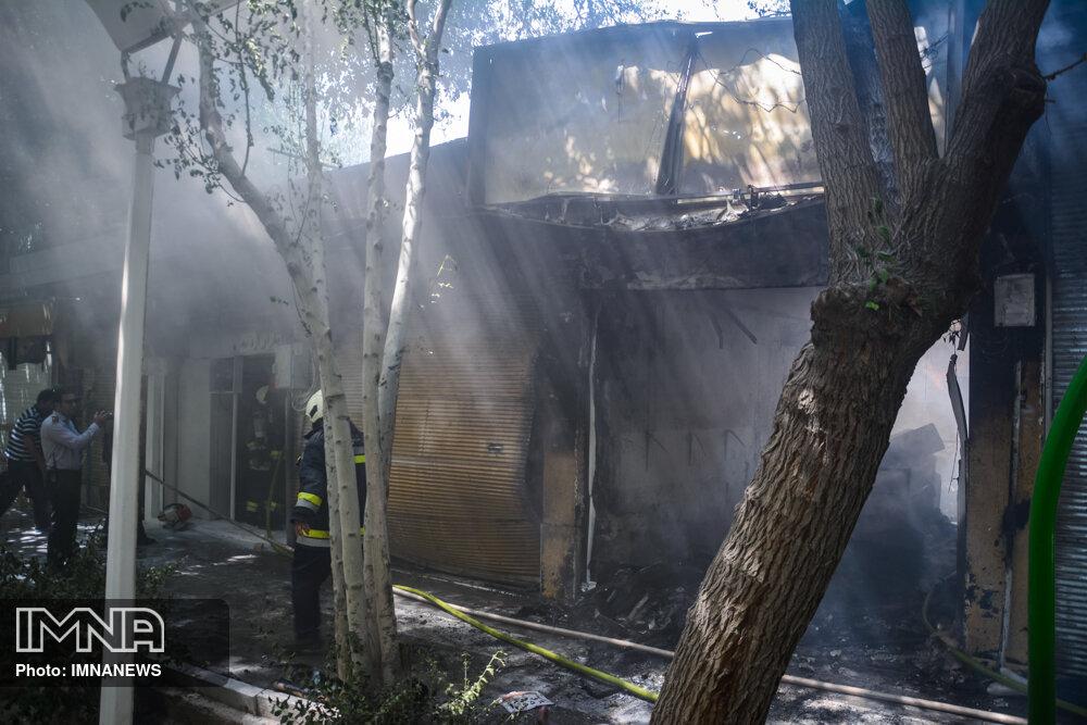 ۲۰۹ حریق و حادثه در اصفهان رخ داده است