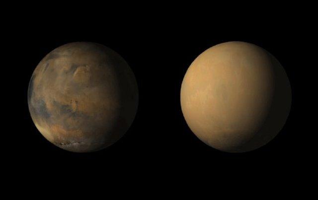 امشب آسمان شاهد مقارنه عطارد و مریخ خواهد بود