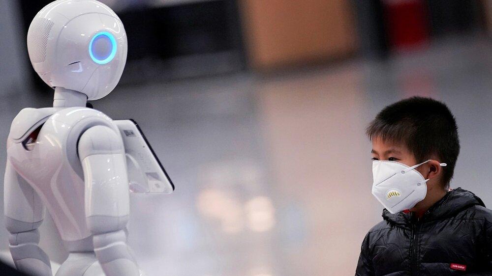 روبات های ضد کرونا