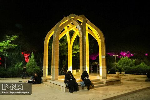 مراسم احیای شب بیست و سوم ماه رمضان در گلستان شهدا