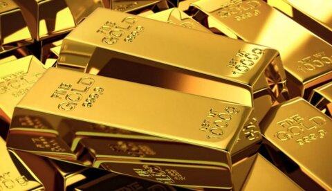 کاهش قیمت طلا به دنبال افزایش ارزش دلار در بازار جهانی