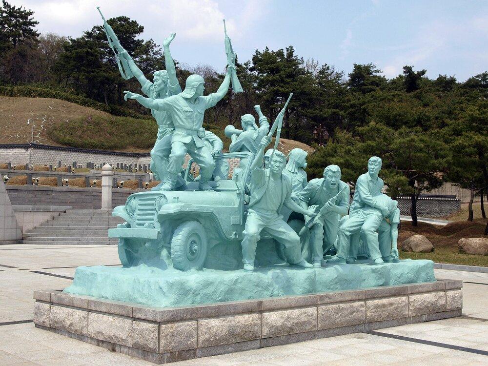 یادبودی برای مدافعان آزادی گوانگ جو