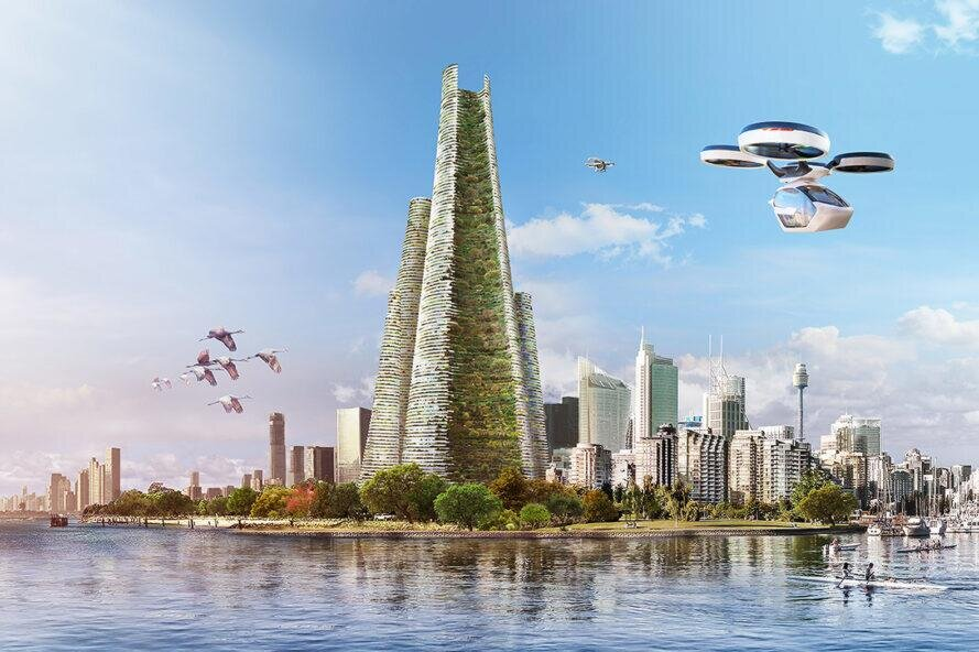 شهر عمودی ۲۰۳۰ را اکنون ببینید