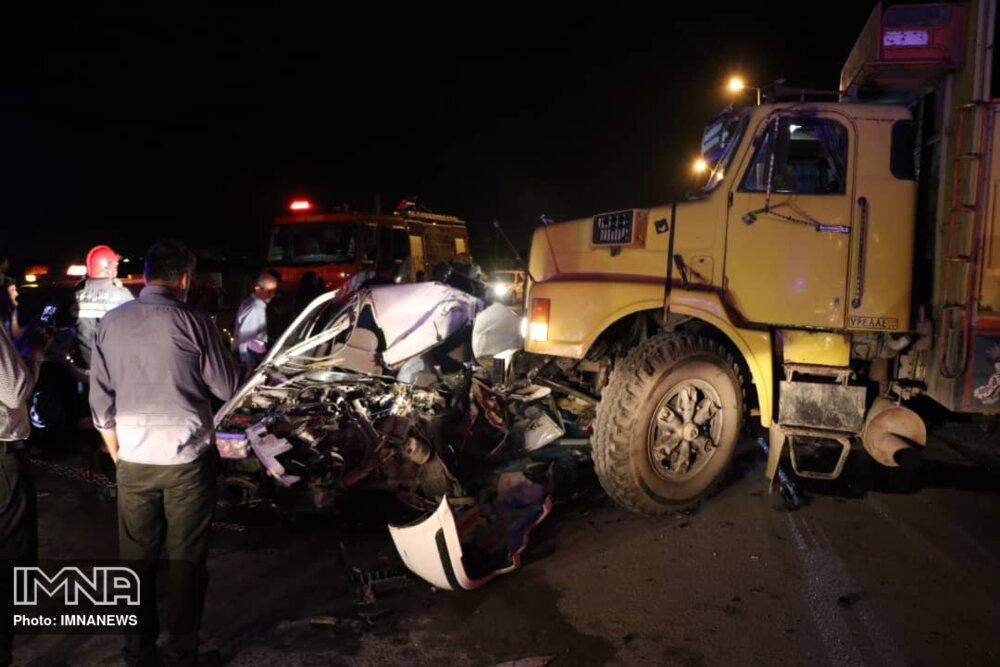 مرگ ۹۱ نفر در تصادفات شهر قزوین در مدت ۵ سال
