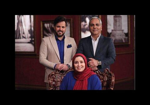 ژاله صامتی و علی عبدالمالکی در دورهمی