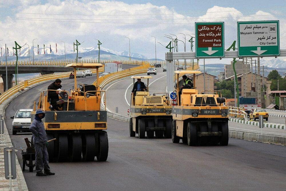 تقاطع غیرهمسطح آذربایجان ارومیه تا پایان سال ۹۹ تکمیل میشود