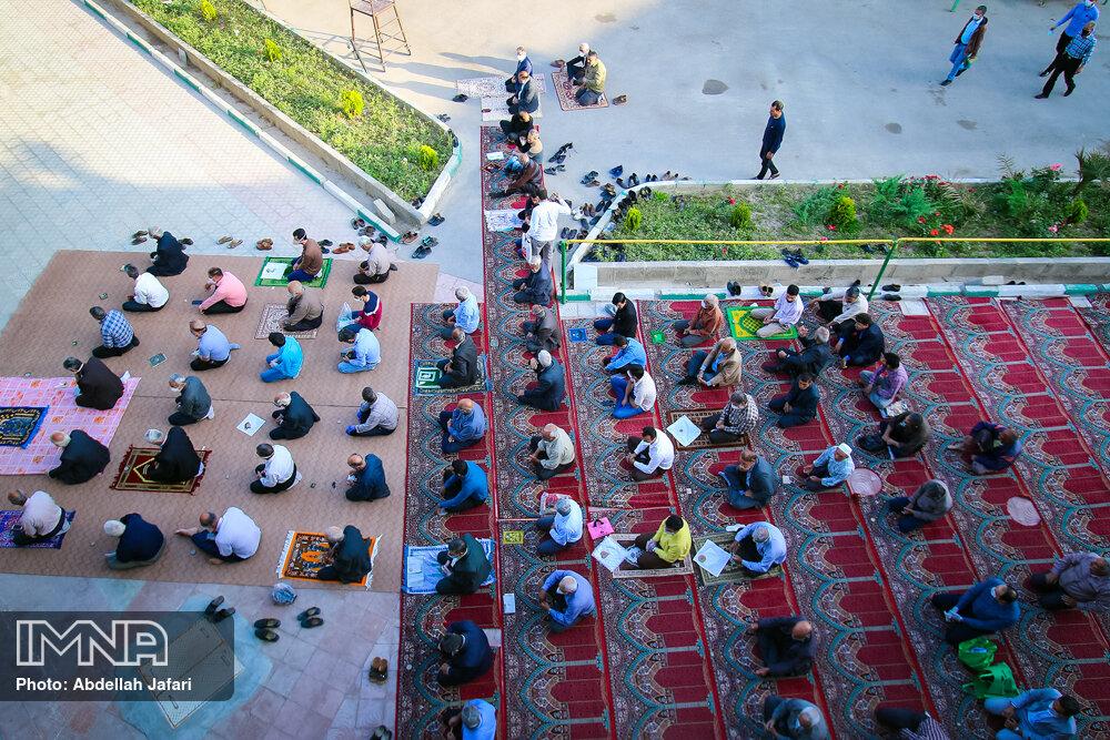 آمادهسازی مصلاهای  زاهدان برای برگزاری نماز عید فطر