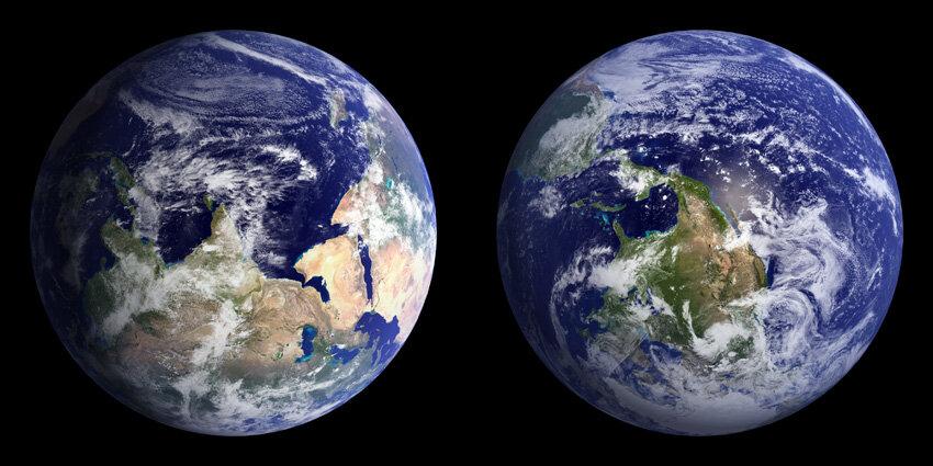 قطب شمال و جنوب عوض می شود!