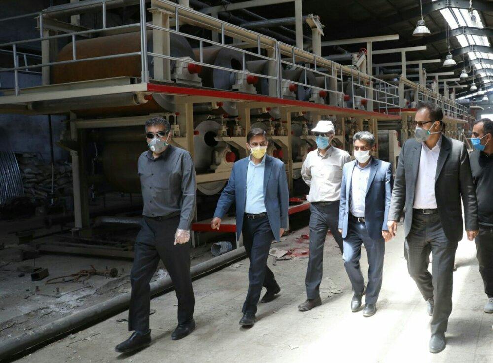 افزایش ۲۵ تنی ظرفیت تولید کارخانه بازیافت کاغذ در مشهد