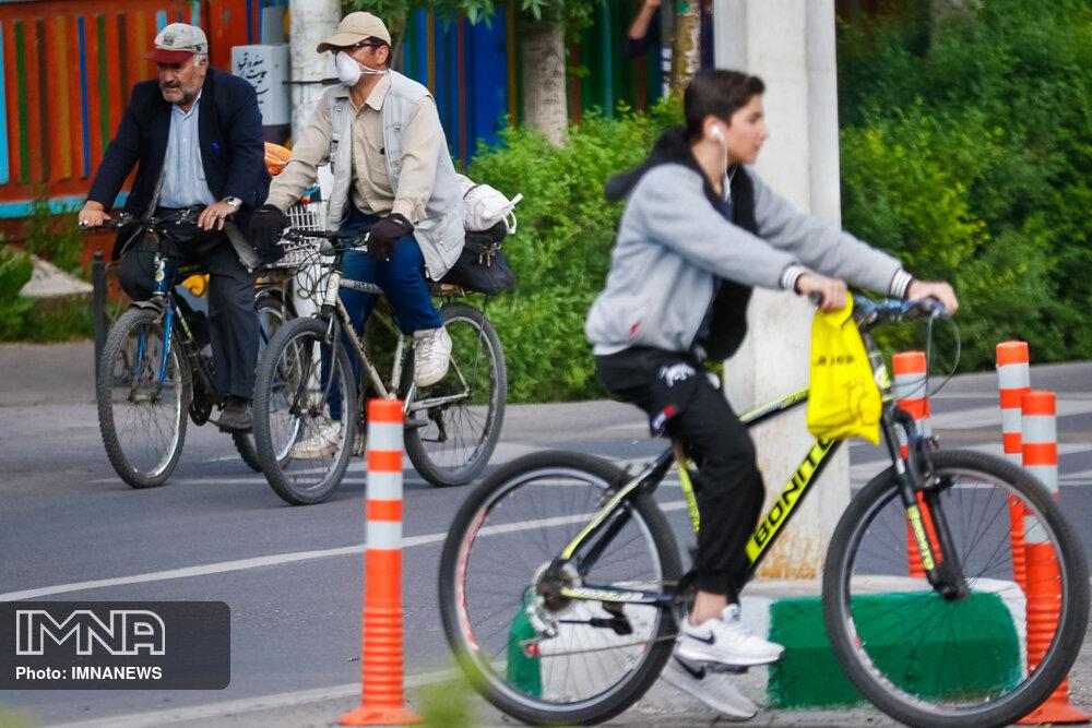 توسعه زیرساختهای دوچرخهسواری در اولویت است