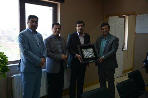 دیدار محمد عیدی با مدیران فرهنگی شهرکرد