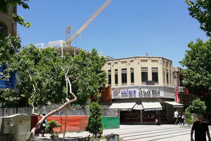 ارتفاع هتل در حال احداث چهارباغ باید تعدیل شود