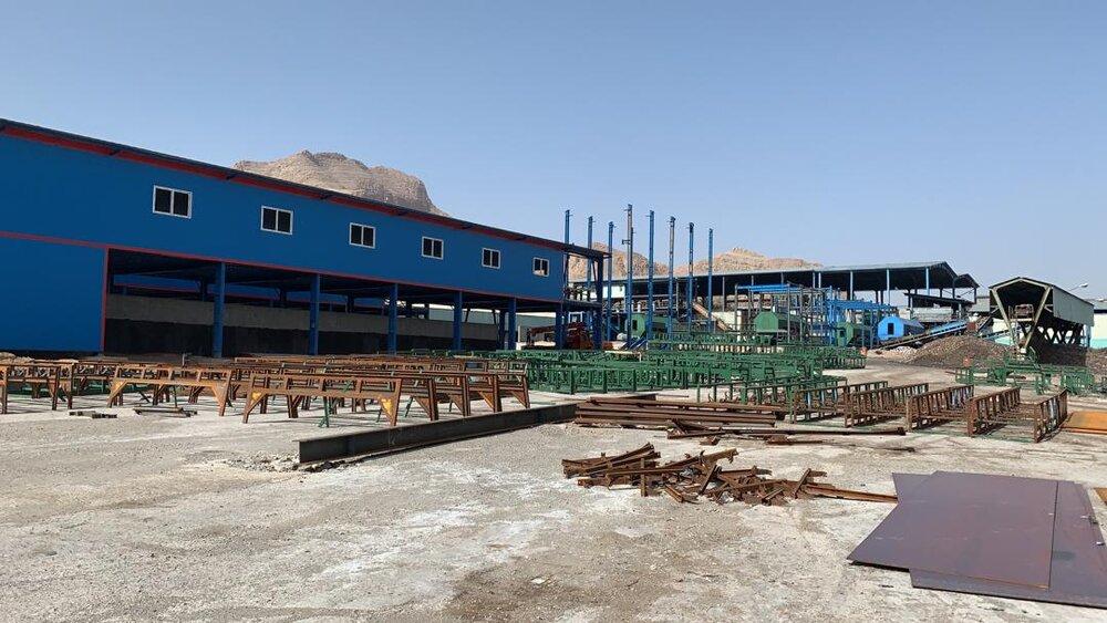 پروژه احداث خطوط جدید کارخانه کود آلی روی ریل پیشرفت