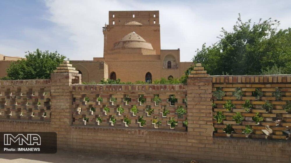 احیای باغ سنتی و نهر ۸۰۰ ساله مسجد جامع سمنان
