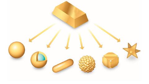محققان ایرانی نانوذرات طلا با خلوص بالا تولید کردند
