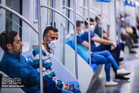 رعایت پروتکلهای بهداشتی در مترو الزامی است