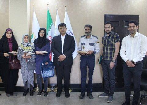 اهدای جوایز برندگان مسابقه ویژه هفته فرهنگی اصفهان
