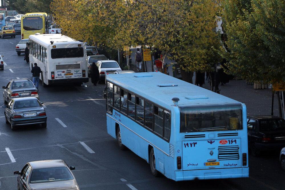 نیاز روزانه ۱۱ هزار ماسک برای رانندگان اتوبوس/کمک دولت به اتوبوسرانی صفر است
