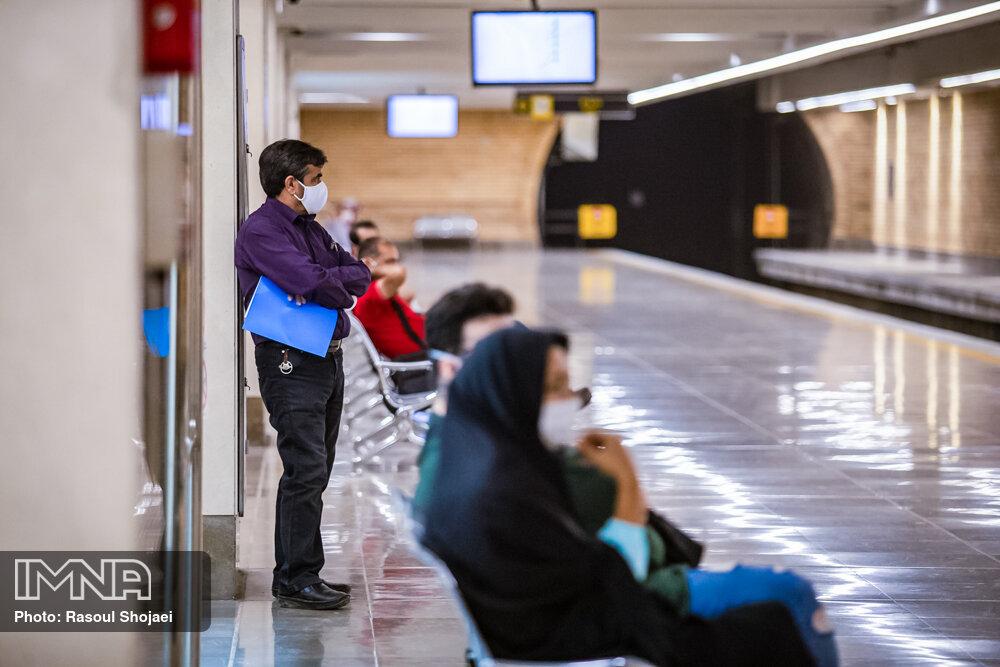 ساعت فعالیت مترو اصفهان تغییر نمیکند