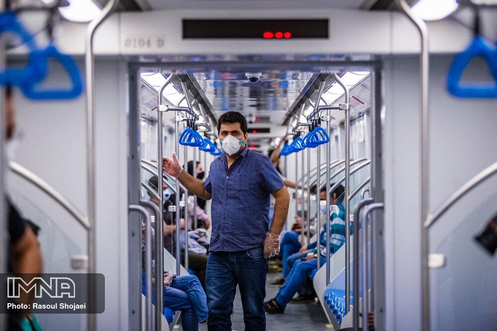 افزایش سختگیریها برای استفاده از ماسک در اتوبوس و متروی مشهد