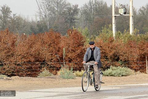 """اجرای طرح """"حملونقل با دوچرخه"""" در بجنورد"""