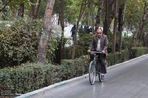۴۹ درصد دوچرخهسواران قزوینی شغل آزاد دارند