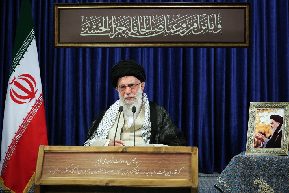 رهبر معظم انقلاب روز عید قربان با مردم صحبت میکنند