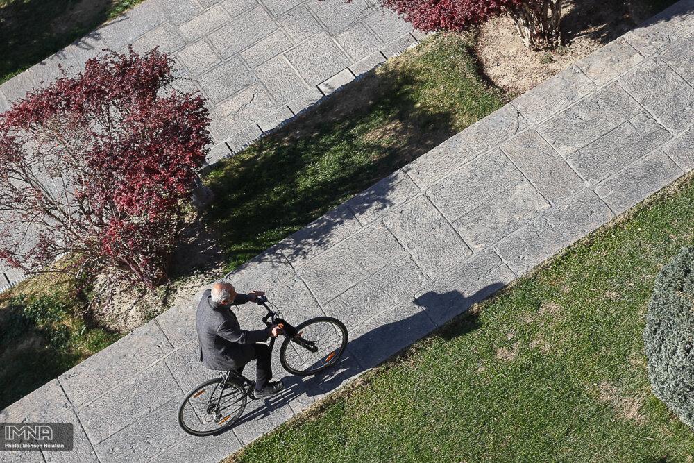 اصفهان، شهر دوچرخه ها