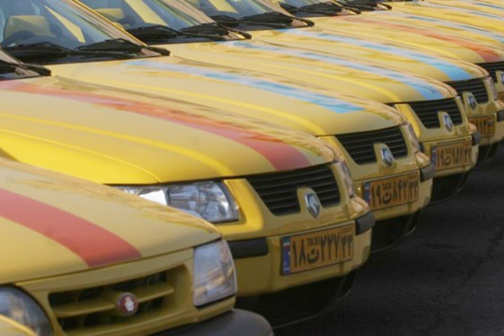 شمایل محرمی تاکسیهای اسفراین