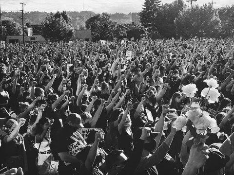 نگاهی به اعتراضات آمریکا با قتل جورج فلوید