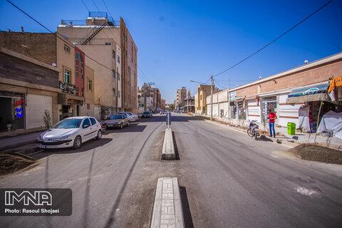 پیشرفت ۸۵ درصدی خیابان ۱۲ بهمن در منطقه ۱۲