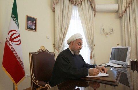 روحانی انتخاب مجدد امامعلی رحمان را به عنوان رئیس جمهور تاجیکستان تبریک گفت