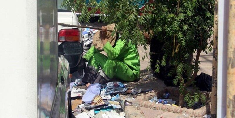 ضرب و شتم یک پاکبان در جنوب تهران