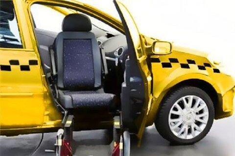مناسبسازی ۱۰۰ دستگاه تاکسی برای معلولان در مشهد