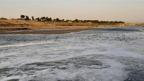 ۱۰ هکتار از بستر زاینده رود در شرق اصفهان آزادسازی شد
