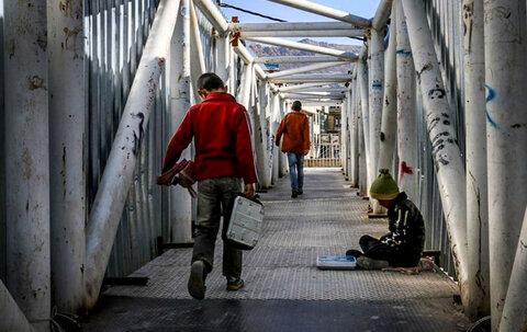 انجام تست کرونا از کودکان کار تهران/ توزیع اقلام بهداشتی در گودهای زبالهگردی