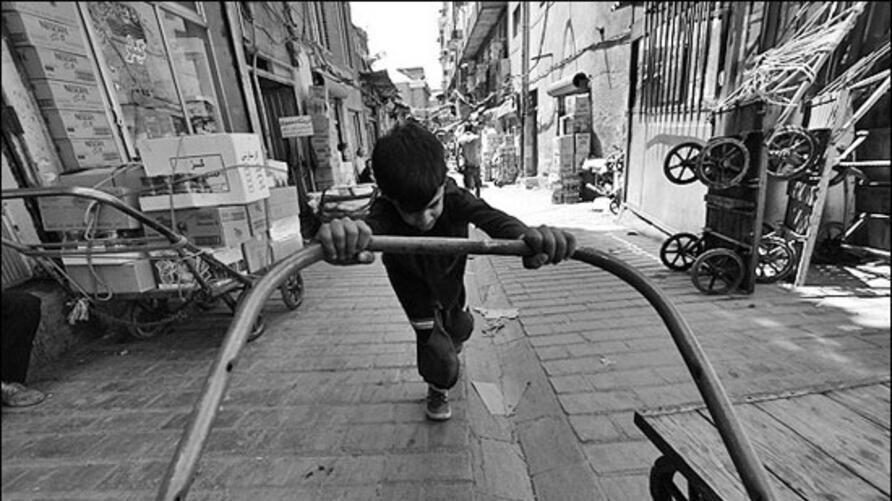 کودکان کار در ایران و جهان/اینفوگرافیک