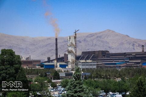 توانایی ذوب آهن اصفهان در تولید ۲۵۰۰ تن ریل سوزنی
