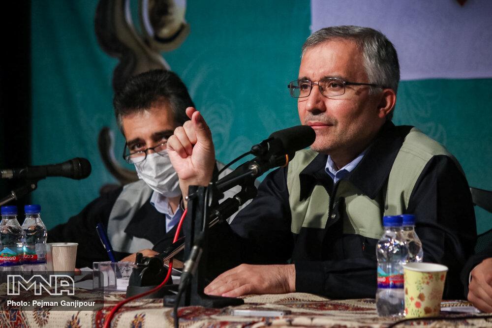 هواداران ذوبآهن خواستار استعفای یزدیزاده شدند + عکس