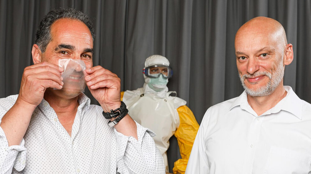 ماسکهای سازگار با محیط زیست تولید میشود