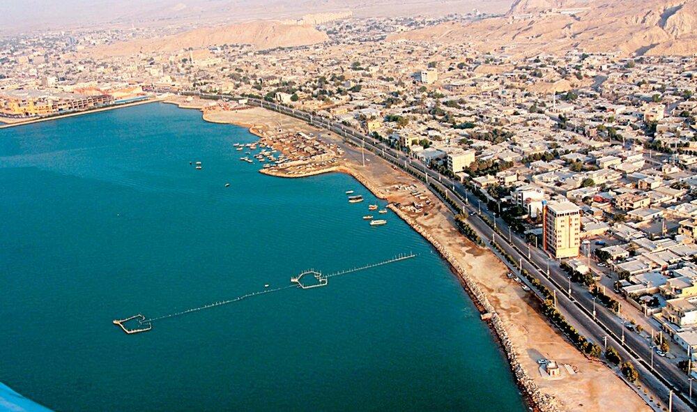 شهری بر بزرگترین جزیره ایرانی
