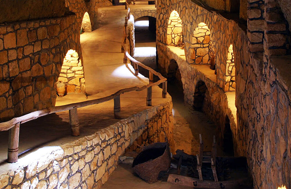 Subterranean city in Pearl of Persian Gulf