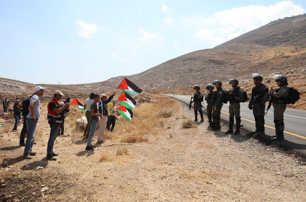طرح الحاق کرانه باختری تجاوز آشکار به حقوق فلسطینیان است
