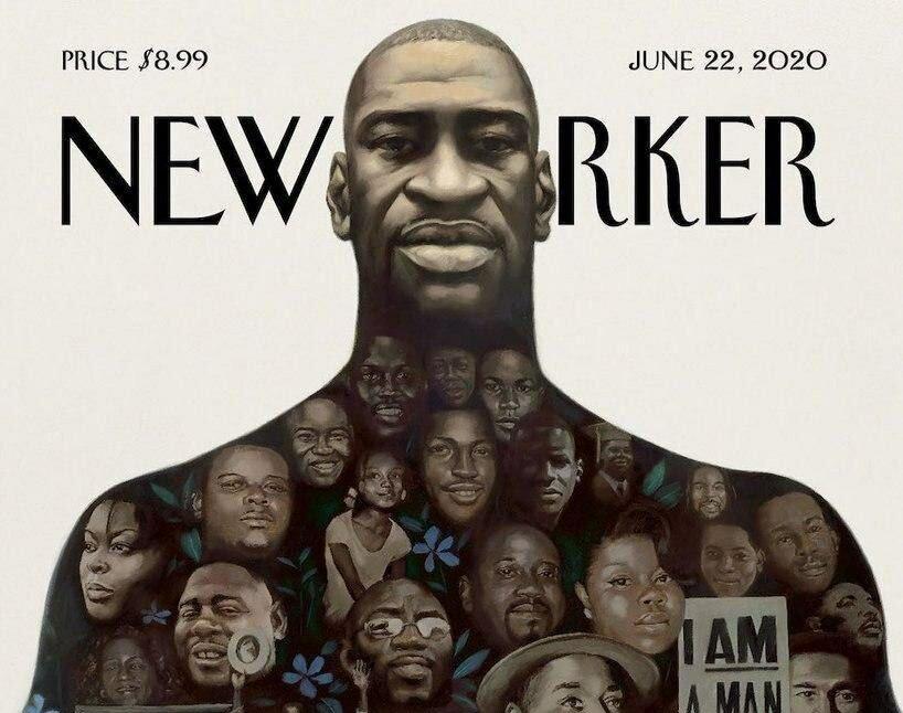 عکس روی جلد مجله نیویورکر به یاد جورج فلوید و یاران + عکس