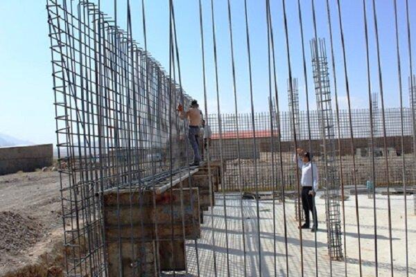 پیشرفت ۴۰ درصدی مخزن ۵۰۰ مترمکعبی خیابان مصلی