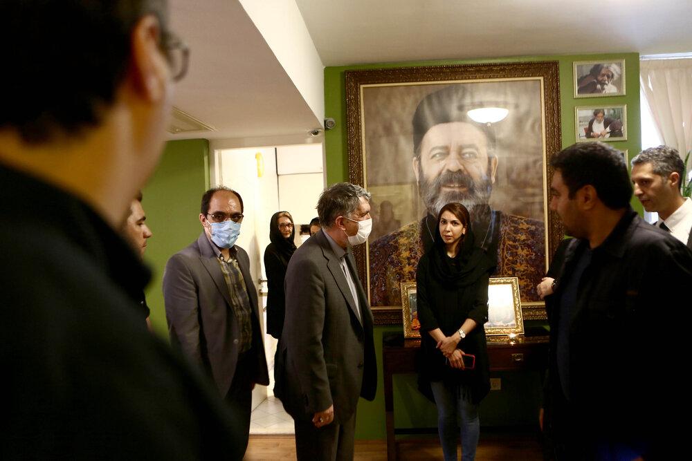 روایت وزیر فرهنگ و ارشاد از منزل محمدعلی کشاورز
