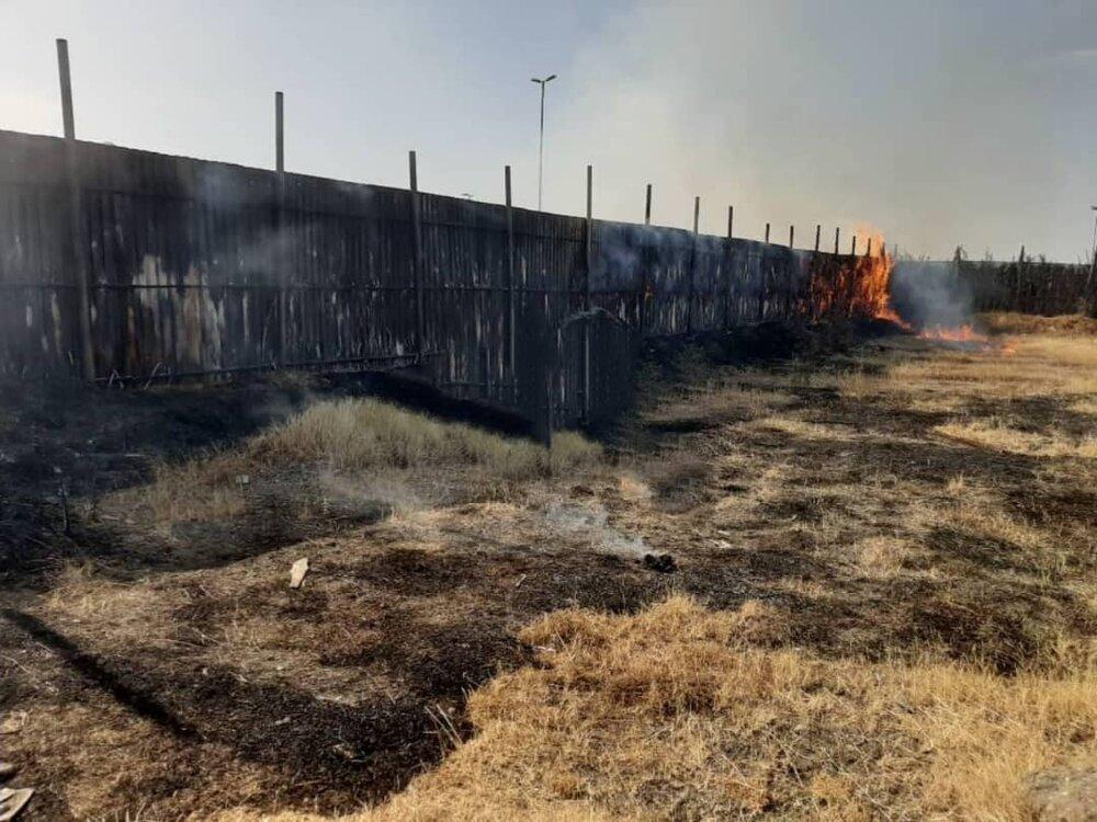 خطای انسانی عامل آتشسوزی طرح ساحلی آستارا
