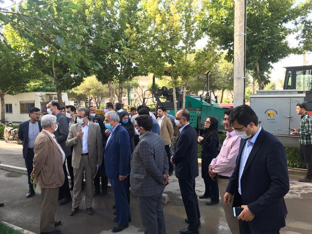 تملک بیش از ۷ هزار مترمربع زمین برای احداث بزرگترین ورزشگاه غرب اصفهان