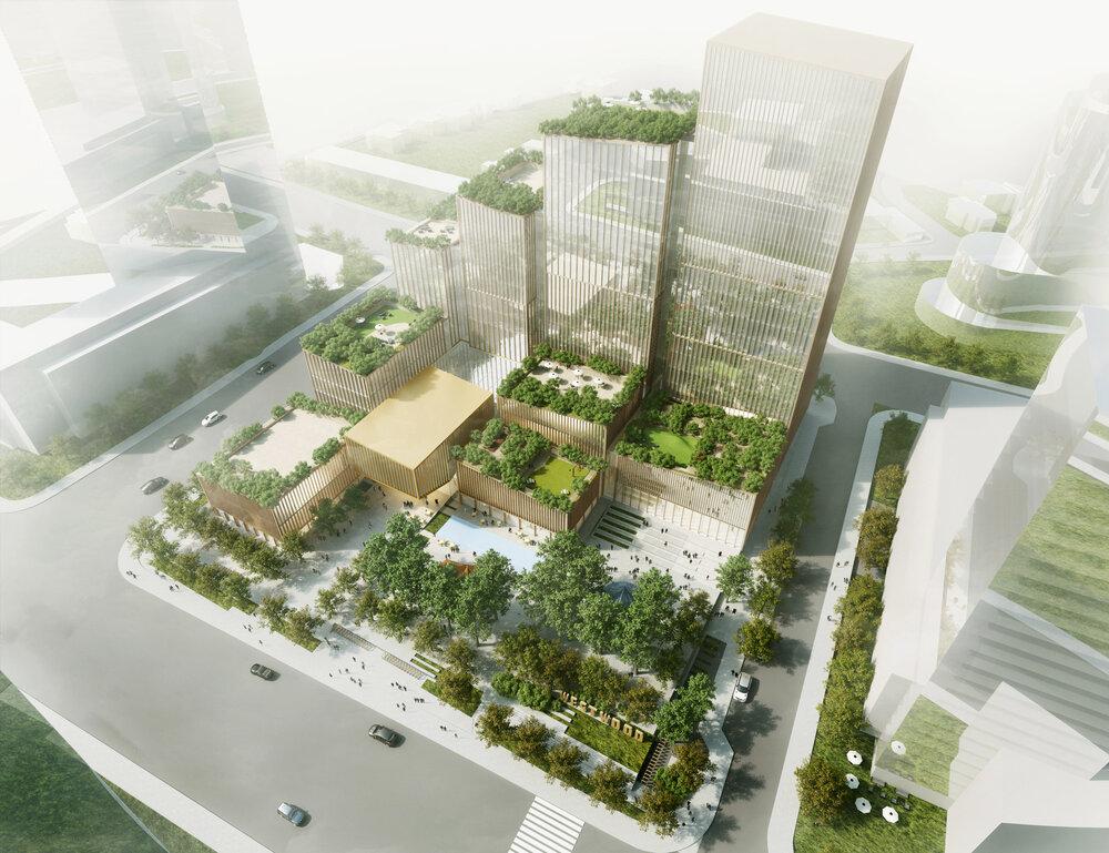 نمونهای از تاثیر معماری بر تغییر آب و هوای منطقه +فیلم