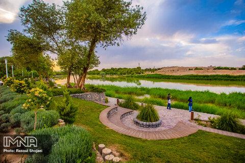 بوستان پردیس هنر اصفهان